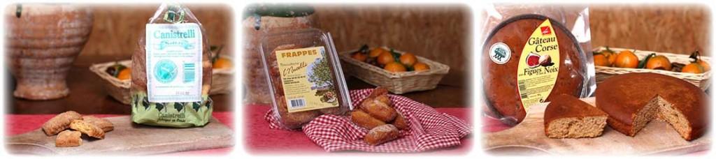 dessert corse canistrelli frappes gateau figues noix produits terroir