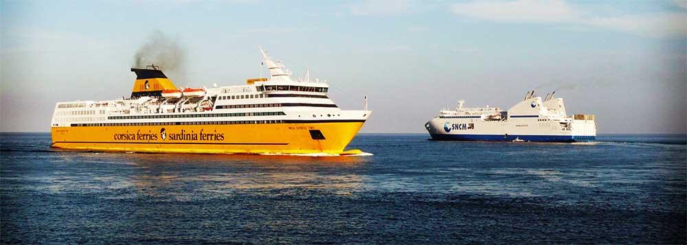 ferry voiture moto sncm corsica ferries