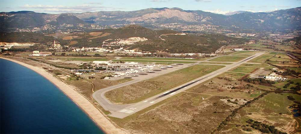 aeroport ajaccio vol avion easy jet hop air france volotea transavia