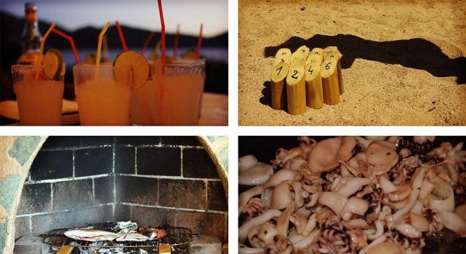 apero barbecue bbq molkky supions corse ajaccio golfe de lava location villa maison