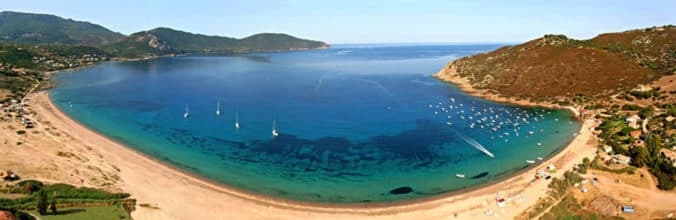 Golfe de Lava Appietto Ajaccio Corse Corsica Vue du ciel
