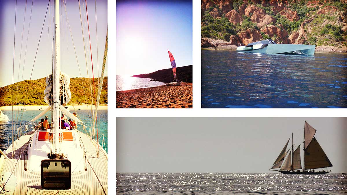 navigation voilier hobie cat bateau corse ajaccio golfe de lava location villa maison
