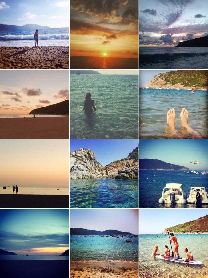 location corse sud ajaccio golfe de lava appietto sagone villa maison plage soleil best of instagram