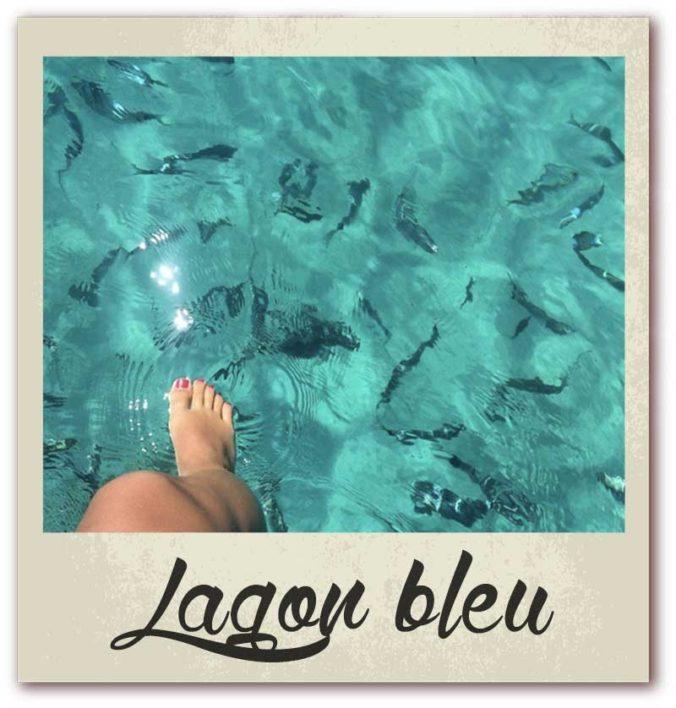 Polaroid livre or corse golfe de lava location villa lagon bleu