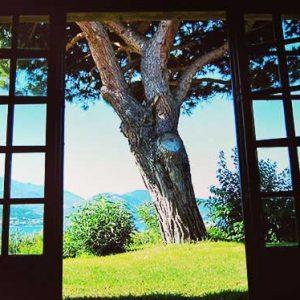 Chambre 3 - Chambre triple côté jardin avec placards de rangement - Lit double en 160 et lit simple en 90 - Climatisation réversible
